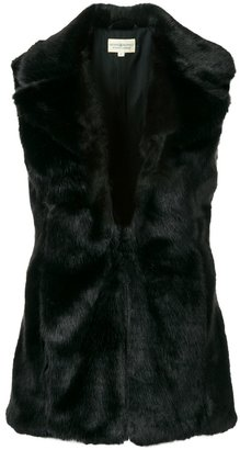 Ralph Lauren Denim & Supply fur gilet $289.75 thestylecure.com