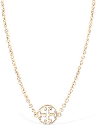 Tory Burch Logo Rosary Necklace