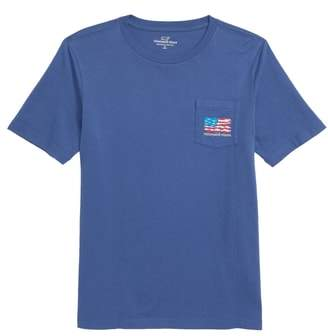 Vineyard Vines School of Fish Flag Pocket T-Shirt