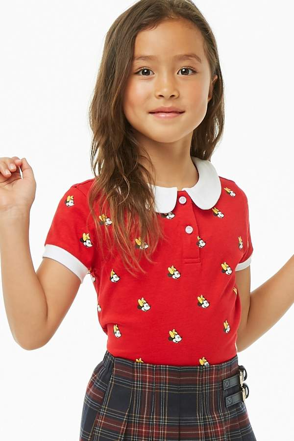 Forever 21 Girls Minnie Mouse Polo (Kids)