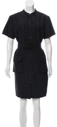 Magaschoni Knee- Length Shirtdress
