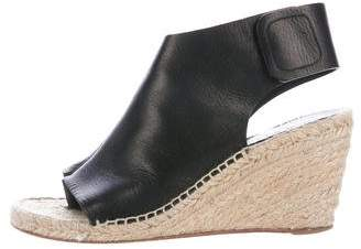 Céline Espadrille Wedge Booties