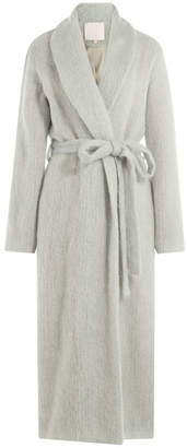 Marina Hoermanseder Coat with Mohair and Wool