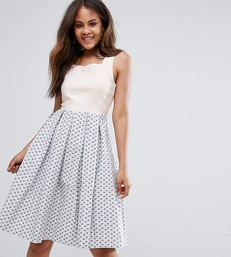 Vesper Tall Skater Midi Prom Dress
