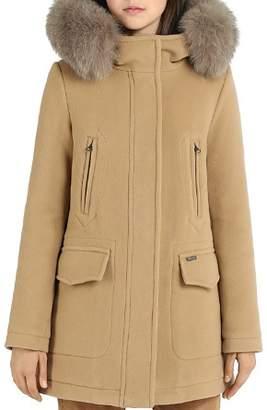Woolrich Mckenzie Fox Fur Trim Parka