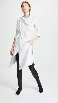 Gareth Pugh Sweatshirt Wrap Coat