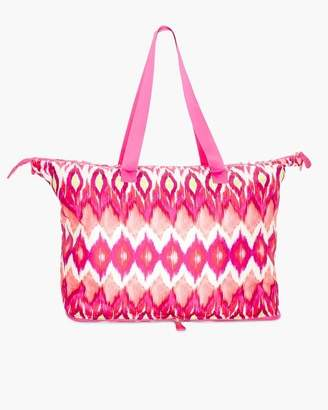Packable Ikat Tote