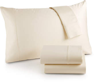 Westport Solid Organic 4-Pc. Full Sheet Set, 500 Thread Count Gots Certified Cotton Bedding