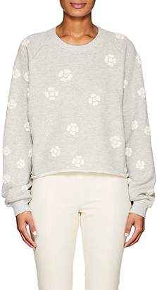 Chloé WOMEN'S EMBROIDERED COTTON TERRY SWEATSHIRT