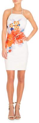 GUESS Floral Scuba Dress