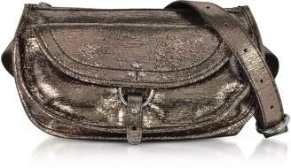Jerome Dreyfuss Felix Banane Metalllic Leather Belt Bag