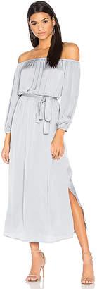 Bardot Off Shoulder Dress in Gray $99 thestylecure.com