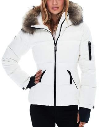 SAM. Blake Fur-Trim Down Coat