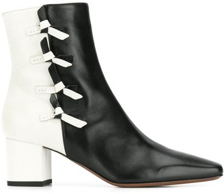 cac33e32a13 Contrast Heel Boots - ShopStyle UK