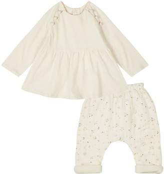 Chloé Floral Top and Leggings Set