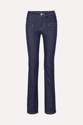 Altuzarra Serge Mid-rise Flared Jeans - Navy