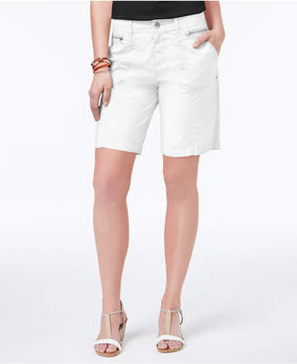 Style & Co Zippered-Pocket Shorts, Created for Macy's $46.50 thestylecure.com