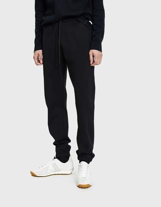 Reigning Champ Heavyweight Terry Cuffed Sweatpant in Black