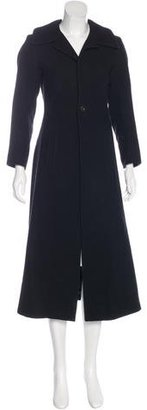 Yohji Yamamoto Wool Long Coat $250 thestylecure.com