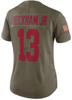 Nike Women's Odell Beckham Jr. New York Giants Salute To Service Jersey
