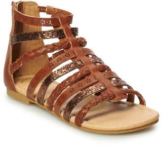 So SO Beach Ball Girls' Gladiator Sandals