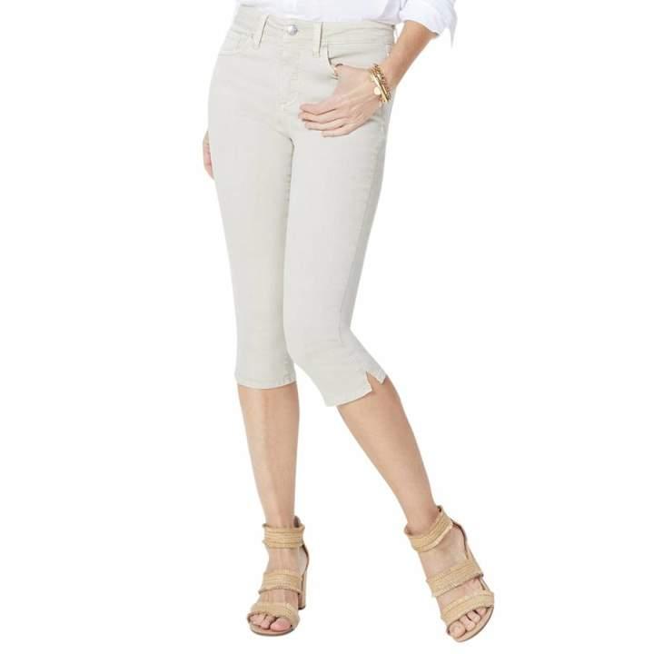 Feather Skinny Capri Jeans
