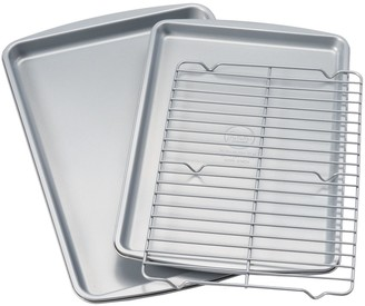Food Network 3-pc. Nonstick Cookie Sheet Set with Cooling Rack