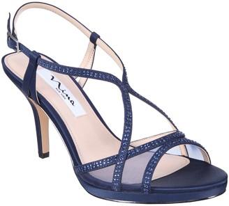 Nina Strappy Platform Sandal Heels - Blossom