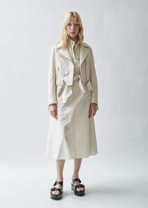 The Row Perlin Deerskin Leather Jacket