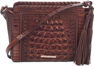 Brahmin Carrie Embossed Leather Crossbody