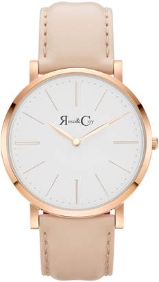 RC0301 Pinnacle Peach And Rose Gold Watch