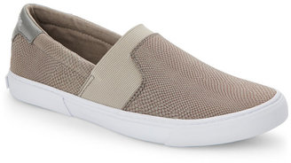 g by guess Grey Cruise Slip On Sneakers $59 thestylecure.com