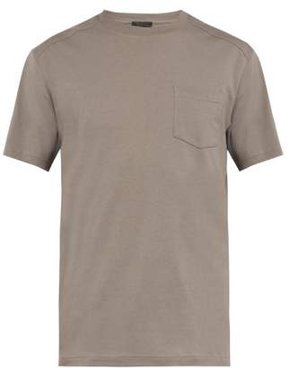 Belstaff Thom Cotton T Shirt - Mens - Grey