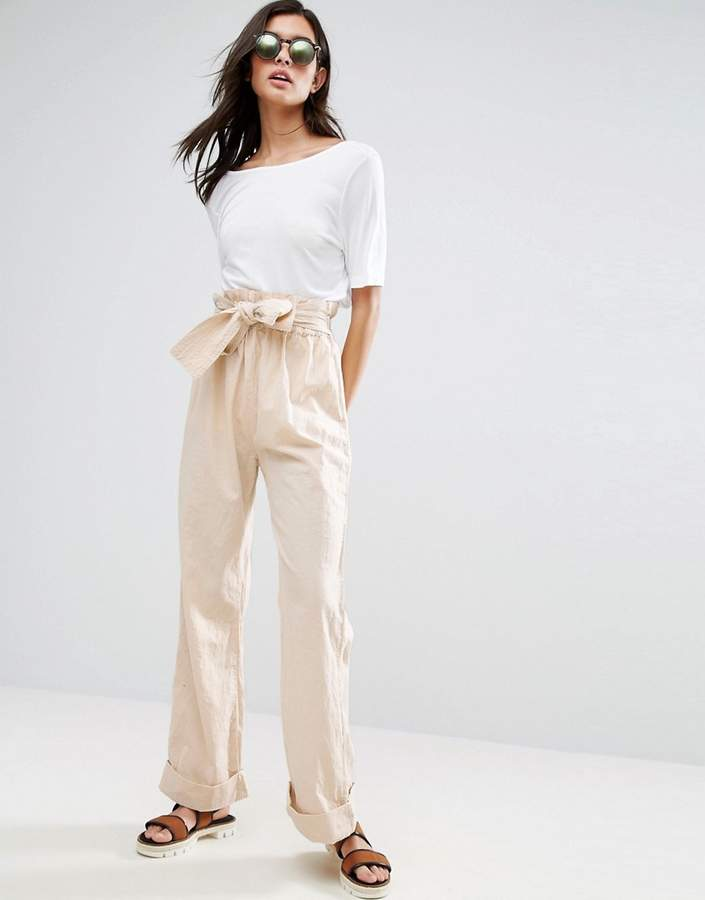 Asos ASOS Karate Wide Leg Pants