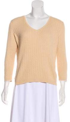 Lauren Ralph Lauren Long Sleeve Knit Sweater