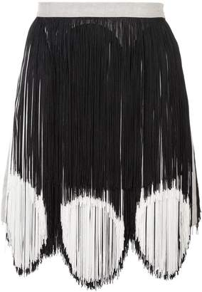 Rachel Comey two-tone fringe skirt