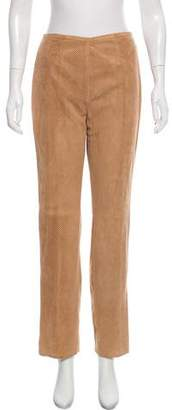 Michael Kors Suede High-Rise Pants w/ Tags