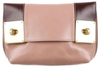 Mulberry Mulberry Colorblock Cosmetic Bag