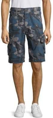 Jet Lag Ripstop Camo Cargo Shorts