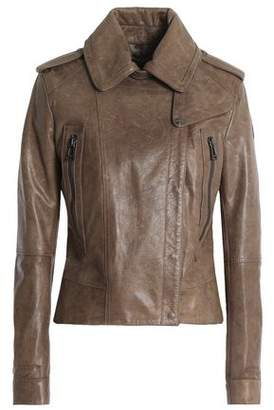 Belstaff Leather Biker Jacket