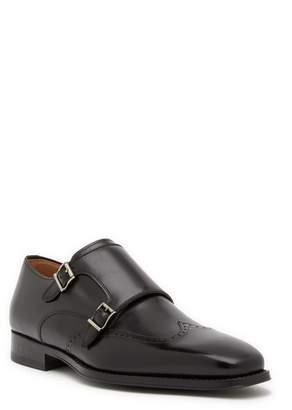 Magnanni Castor Leather Monk Loafer