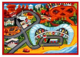 "Cars Disney Lightning McQueen® 3 2'7""x3'8"" Game Rug"