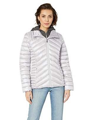 GUESS Women's Hooded Packable Puffer Jacket