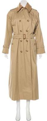 Burberry Vintage Wool Trench Coat