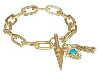 Rebecca Minkoff Perfect Chain Navajo Charm Bracelet