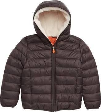 Save The Duck Giga Lightweight Hooded PLUMTECH(R) Insulated Packable Jacket