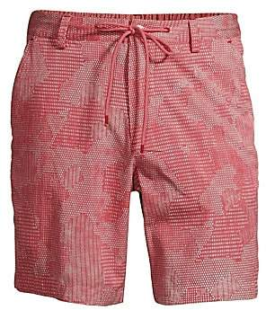 Robert Graham Men's Chennin Stretch Cotton Shorts