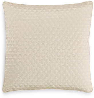 Hotel Collection Dimensions Champagne Quilted European Sham