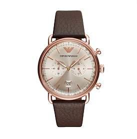 Emporio Armani Aviator Brown Watch