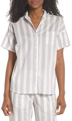 Maison du Soir Gigi Stripe Pajama Top